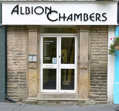 albion chambers entrance